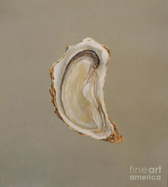 Wall Art - Painting - Oyster 2 by Lincoln Seligman