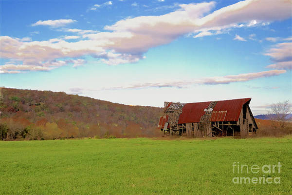 Wall Art - Photograph - Ozark Barn by Jim Raines