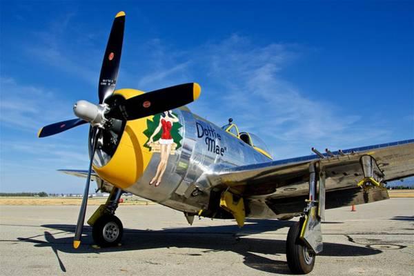 Wall Art - Photograph - P-47 Thunderbolt by Hayman Tam