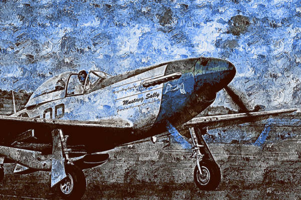 Painting - P-51 Mustang - 30  by Andrea Mazzocchetti