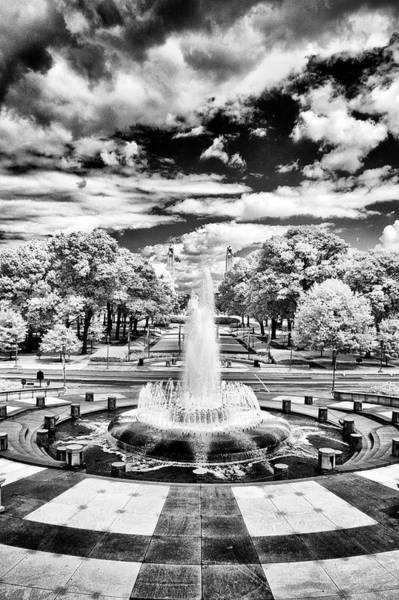 Photograph - Pa Capital Fountain Plaza by Paul W Faust - Impressions of Light