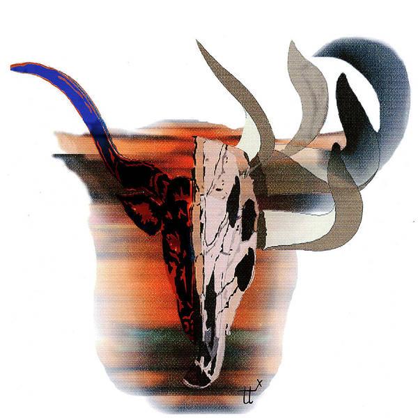 Pablo's Cow Art Print