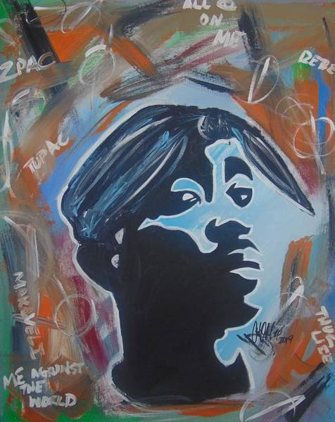 Painting - Pac Life by Antonio Moore