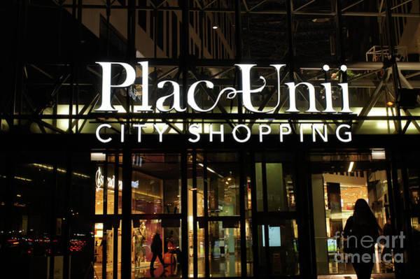 Wall Art - Photograph - Pac Unii Shopping Mall by Tom Gowanlock