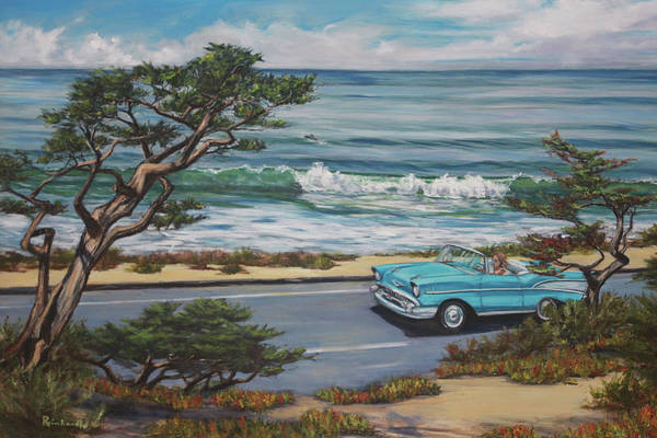 Wall Art - Painting - Pacific Coast Hwy by Lisa Reinhardt