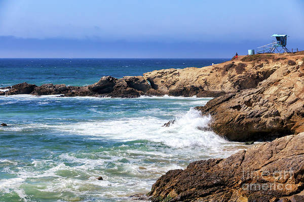 Photograph - Pacific Coast Lifeguard View At El Matador State Beach by John Rizzuto