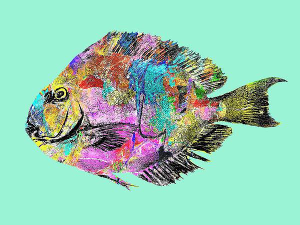 Mixed Media - Pacific Gyre Flotsam Flounder by Dominic Piperata