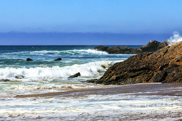 Photograph - Pacific Invite At Point Dume Malibu by John Rizzuto