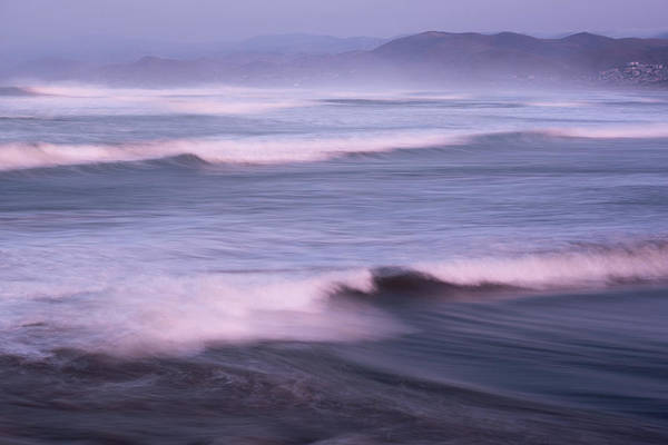 Whitecaps Photograph - Pacific Ocean Waves by Steve Gadomski