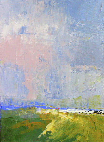 Wall Art - Painting - Pacific Sky by Nancy Merkle