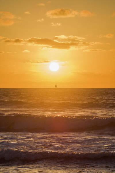 Photograph - Pacific Sunset by Jonathan Hansen