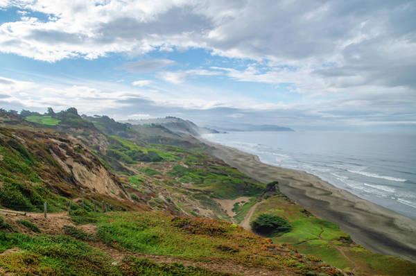 Photograph - Pacifica State Beach -  California by Bill Cannon
