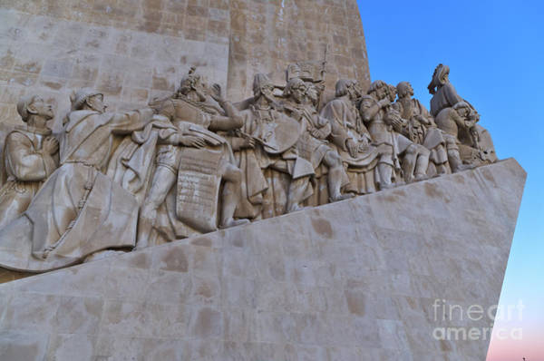 Photograph - Padrao Dos Descobrimentos In Lisbon by Angelo DeVal