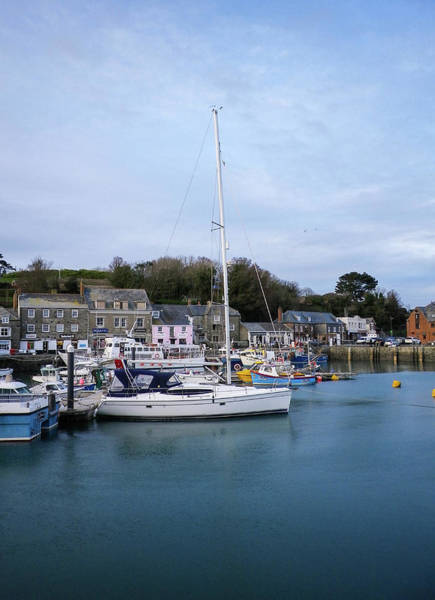 Wall Art - Photograph - Padstow Harbour North Cornwall by Richard Brookes