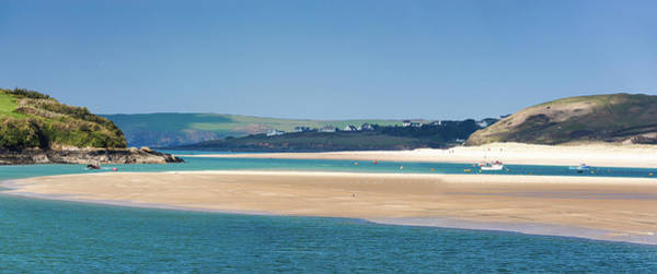 Photograph - Padstow The View Across To  Rock And Daymer Bay.cornwall  Uk by Maggie McCall