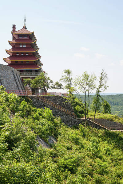 Reading Photograph - Pagoda In Reading, Pennsylvania by Justinhawthorne