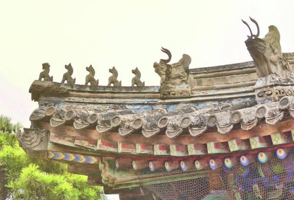 Photograph - Pagoda Rain by JAMART Photography