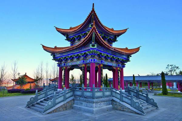 Chinese Pavilion Photograph - Pagoda by Seng Chye Teo