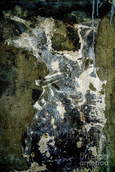 Wall Art - Photograph - Paint And Plaster Peeling Off A Wall K4 by Vladi Alon