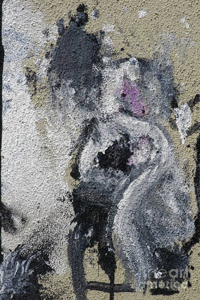 Wall Art - Photograph - Paint And Plaster Peeling Off A Wall K6 by Vladi Alon