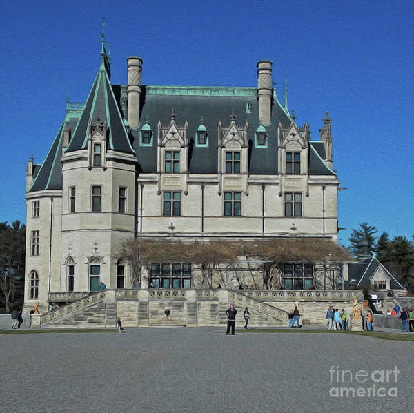 Wall Art - Photograph - Painted Biltmore by Skip Willits