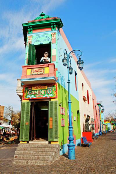 Wall Art - Photograph - Painted Buildings, La Boca by John W Banagan