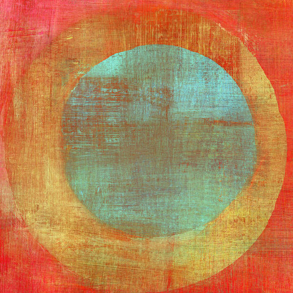 Photograph - Painted Composition With Concentric by Qweek