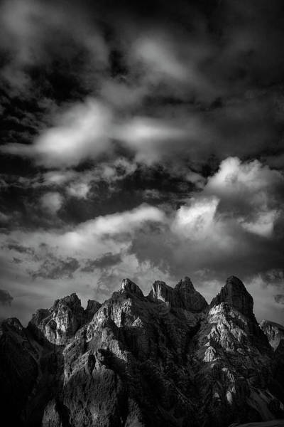 Wall Art - Photograph - Painted Dolomites by Jon Glaser