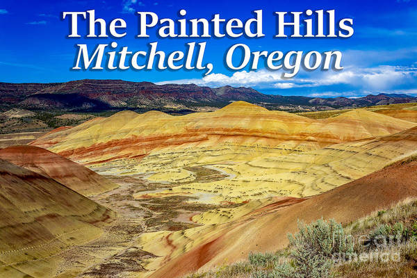 Photograph - Painted Hills 01 by G Matthew Laughton