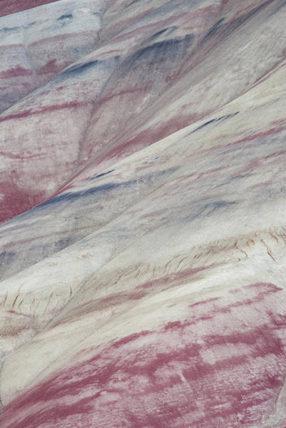 Photograph - Painted Hills Textures 3 by Leland D Howard