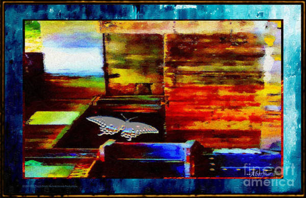 Primary Colors Mixed Media - Painted Shadows Of A Different Love And Time by Aberjhani
