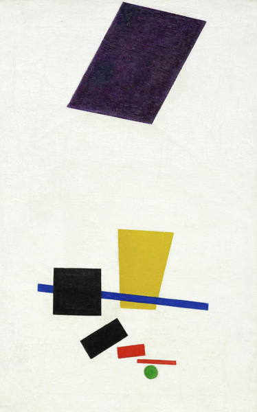 Wall Art - Painting - Painterly Realism Of A Football Player, Color Masses In The 4th Dimension, 1915 by Kazimir Malevich