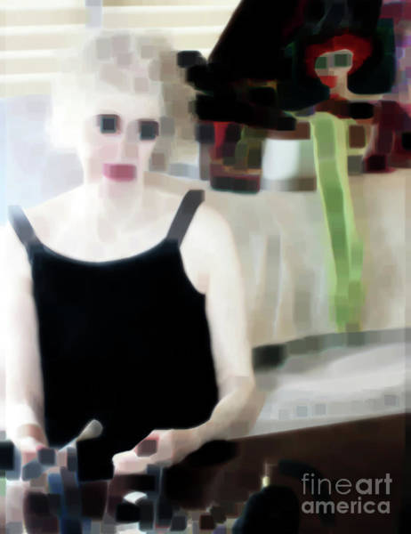Wall Art - Photograph - Painting Herself At The Mirror  by Steven Digman