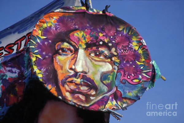 Jimi Hendrix Photograph - Painting Of Jimi Hendrix by Concert Photos