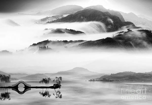 Wall Art - Photograph - Painting Style Of Chinese Landscape For by Nh