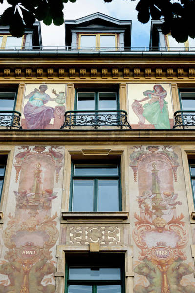 Design Photograph - Paintings On The Facade Of The Louis by Keith Levit / Design Pics
