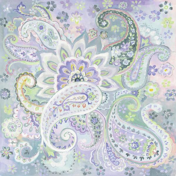 Wall Art - Painting - Paisley Dream by Danhui Nai