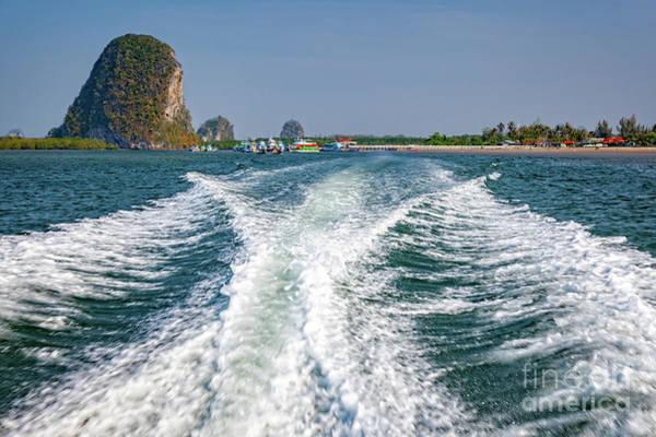 Wall Art - Photograph - Pak Meng Pier Thailand by Adrian Evans