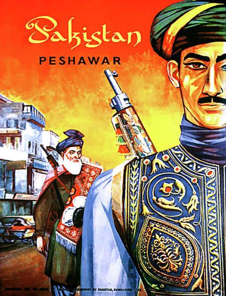 Wall Art - Digital Art - Pakistan, Peshawar by Long Shot