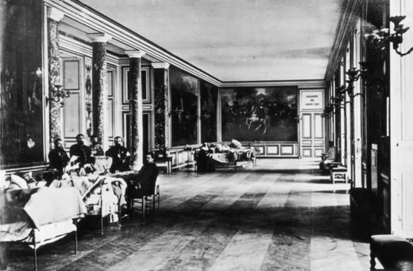 Versailles Wall Art - Photograph - Palace Hospital by Henry Guttmann Collection