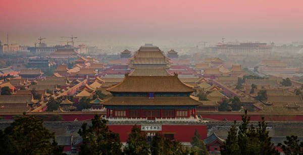 Forbidden City Photograph - Palace Museum by Www.gojiberryphotography.com