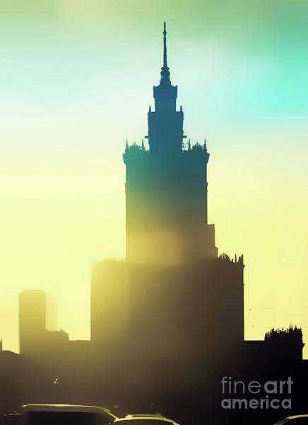 Wall Art - Photograph - Palace Of Culture And Science Warsaw by Tom Gowanlock