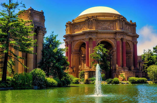 Wall Art - Photograph - Palace Of Fine Arts Lagoon by Garry Gay
