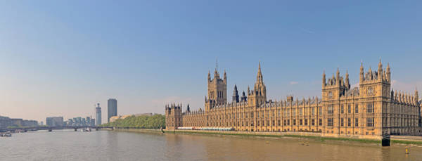 Tower Of David Photograph - Palace Of Westminster - London by David Kracht