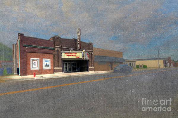 Wall Art - Digital Art - Palace Theater by Larry Braun