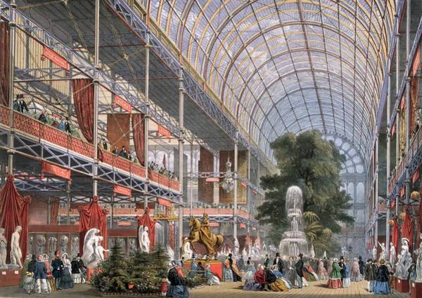 Exhibition Digital Art - Palace Transept by Hulton Archive