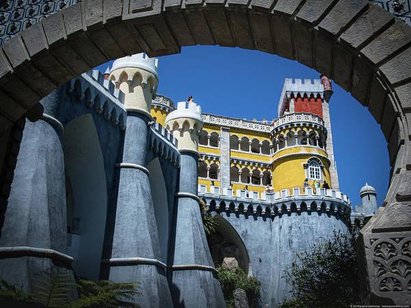 Photograph - Palacio Da Pena Sintra Portugal Vii by Juan Contreras