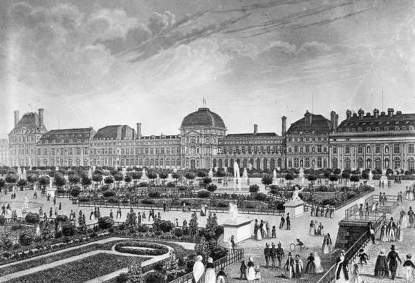 Famous Places Digital Art - Palais Des Tuileries by Three Lions