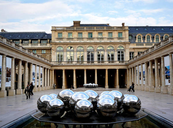 Wall Art - Photograph - Palais Royale 4 by Andrew Fare