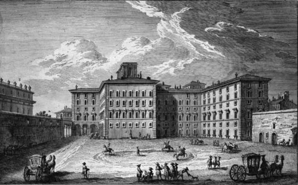 18th Century Digital Art - Palazzo Rospigliosi by Hulton Archive